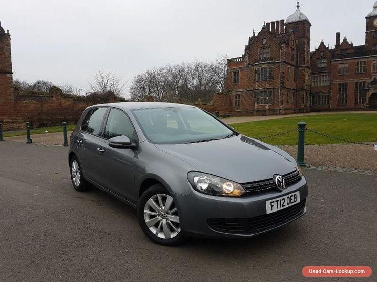 Volkswagen Golf 2012 1.6 TDI Match DSG 5dr #vwvolkswagen #golf #forsale #unitedkingdom