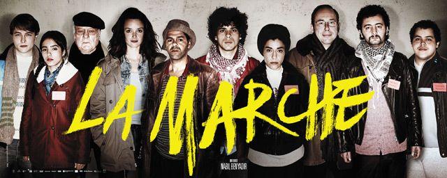 """#InstructionCivique """"La Marche"""" 2013 de Nabil Ben Yadir avec Olivier Gourmet, Jamel Debbouze sur @mycineplus SVOD"""