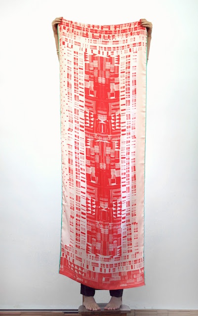 Jenny scarf from Woking Girl Designs