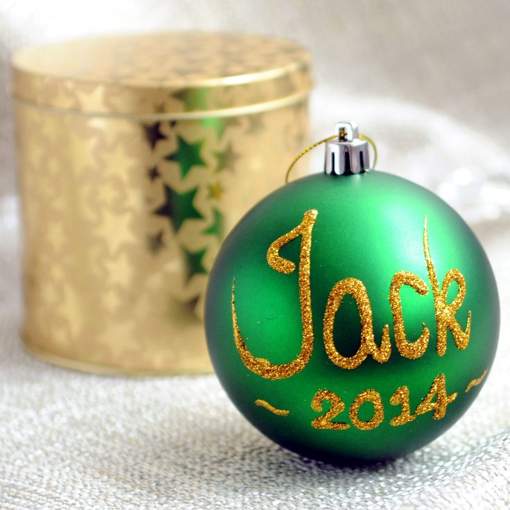 Best 25 personalised christmas baubles ideas on pinterest diy add a personal touch to your christmas tree with a personalised bauble you can personalise solutioingenieria Gallery