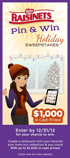 #Raisinets Sweepstakes  #Raisinets and the holidays go together like peanut butter and jelly.