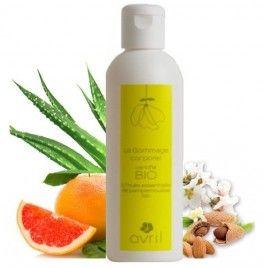 Crema Bio pentru gomaj cu aloe vera si grapefruit 200 ml