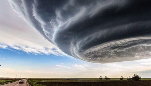 Foto Awan Badai Yang Menakjubkan