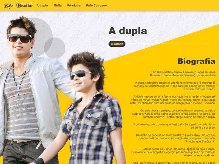 Dupla sertaneja Kaio & Bruninho. Agência: PubliA.
