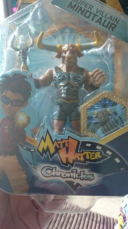 Matt Hatter Chronicles figure - http://www.tiredmummyoftwo.co.uk/reviews/matt-hatter-chronicles-minotaur