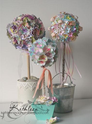 Paper flower topiary kubreforic paper flower topiary mightylinksfo