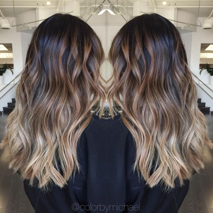 """""""Balayage ombre on level 1 asian hair..."""""""