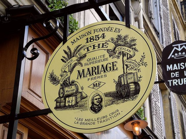 Mariage Frères is a French gourmet tea company, based in Paris. It was founded on 1 June 1854 by brothers Henri and Edouard Mariage.   Flickr: Intercambio de fotos