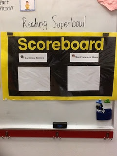 Superbowl plans for the classroom! Includes reading, writing and math activities. Plus, ideas for a class party! Lots of FREEBIES!