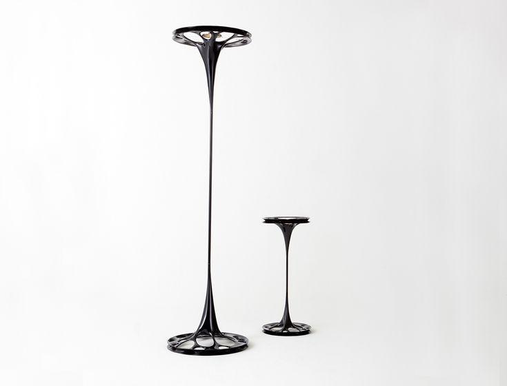 New Liquid Looking Lighting Yanko Design Tecido esticado endurecido fibra de vidro