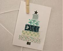 Homemade vianočné pohľadnice / JANAjeans / SAShE.sk