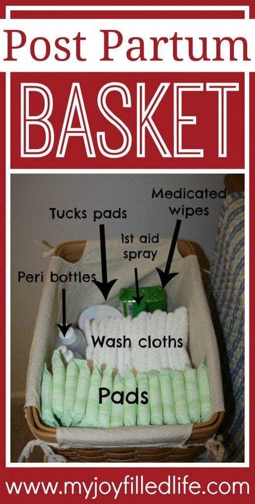 Post Partum Basket