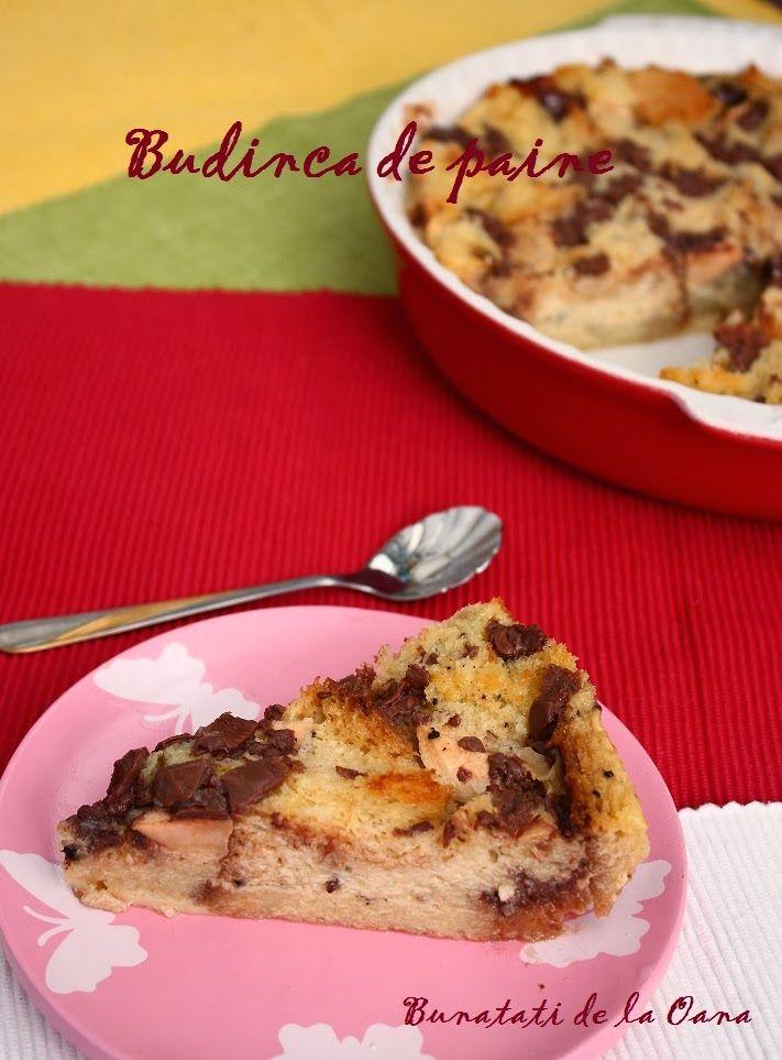Bread pudding - budinca de paine DE-LI-CIOSSSSSSSSSSSssss