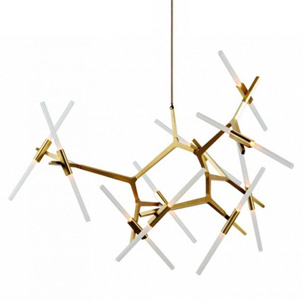 ЛЮСТРА ROLL AND HILL AGNES CHANDELIER DESIGNED BY LINDSEY ADELMAN #light #design