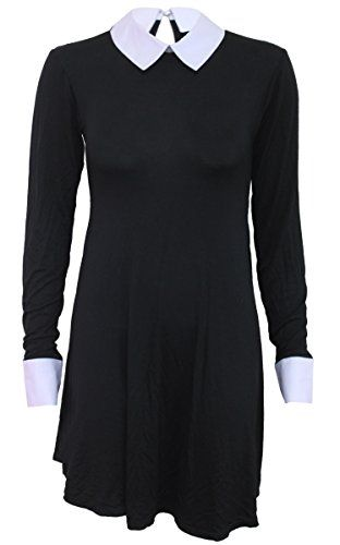 New Spiral Womens - Gothic Rock - Peterpan Collar Baby Doll LS Dress online. Find the perfect Eyekepper Dresses from top store. Sku mkbf82292prum17742