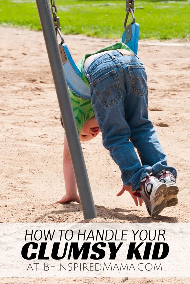 Tips for Dealing with a Clumsy Kid - #kids #parenting #sensoryfix #sensory4all #kbn #binspiredmama
