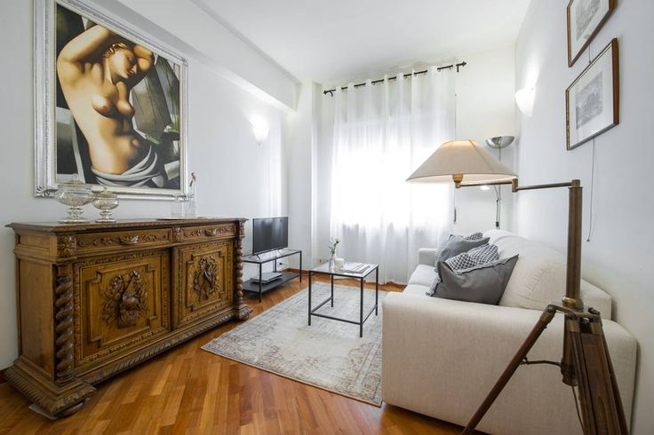 Chic 1 bed apartment 10 minutes away from Rome city centre