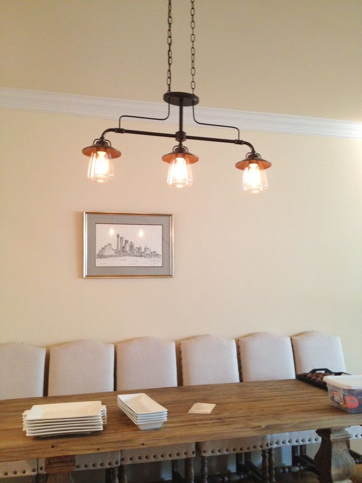 New Light Fixture Edison Inspired