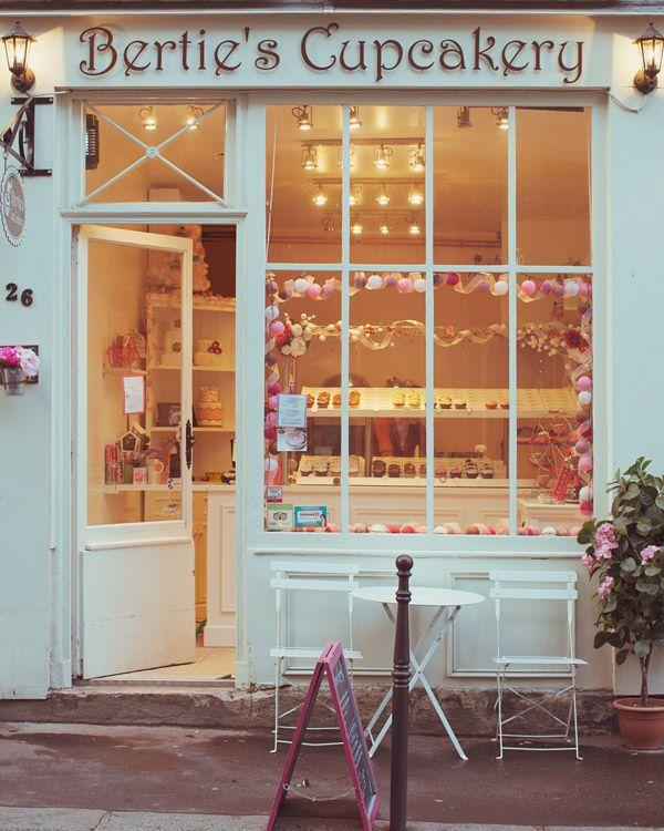 Bertie's Cupcakery in Paris by Irene Suchocki