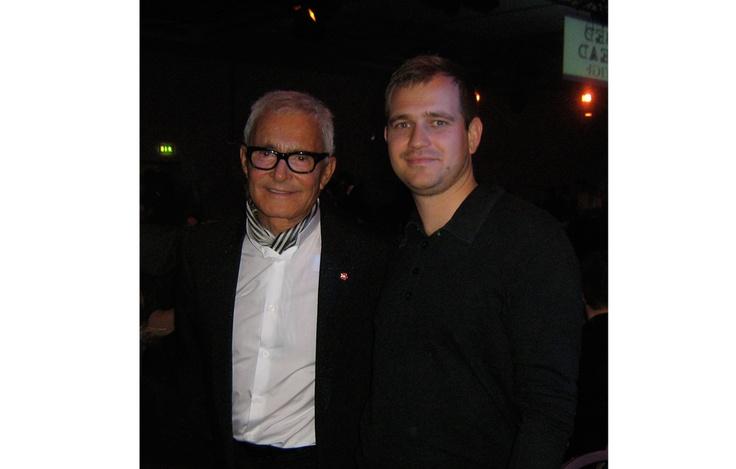 With Vidal Sassoon