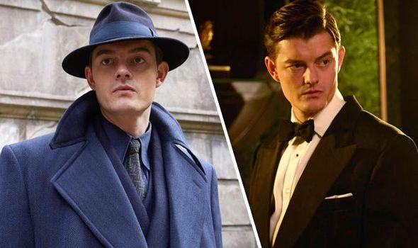 Sam Riley as Douglas Archer in SS-GB