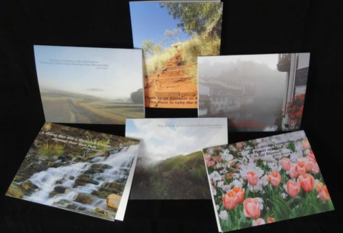 6-x-Greeting-Cards-and-envelopes-Landscape-photos-Inspiration-Motivation-Quotes