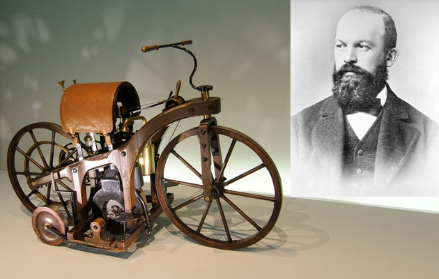 """April 3: Gottlieb Daimler patented his """"grandfather clock"""" engine on this date in 1885"""
