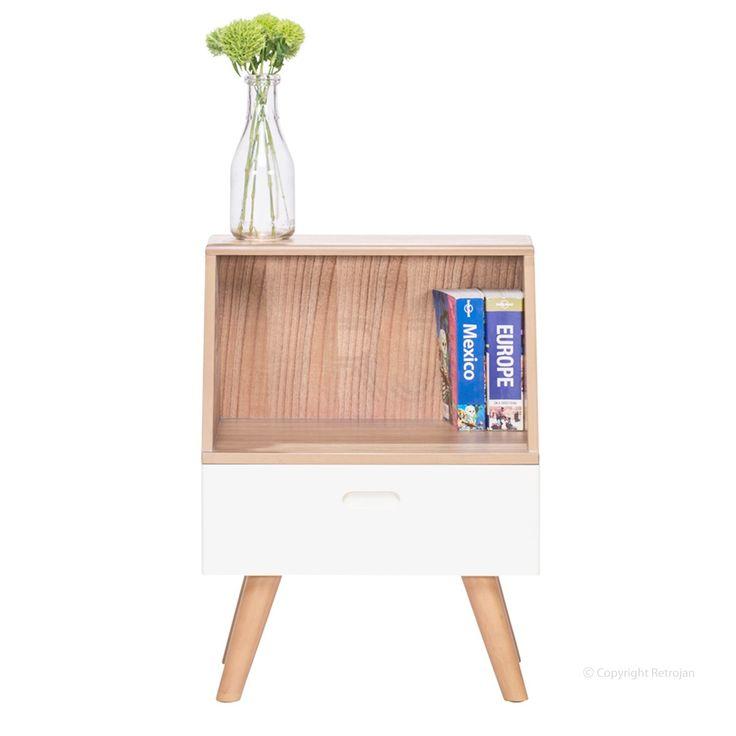 Buy White Frederick Side Table Online | Side Tables - Retrojan