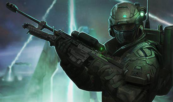Halo spartan Assault artwork
