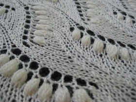 "Beautiful traditional Estonian lace, pattern in ""Knitted Lace of Estonia"" by N. Bush- Knitting Pipeline: Episode 51 Estonian Lace"