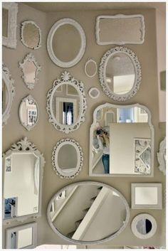 COMO DECORAR LAS PAREDES TU CASA ESTILO SHABBY CHIC Hola Chicas!! Les tengo una galeria de fotografías con ideas de como pueden decorar las paredes estilo Shabby Chic