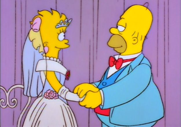 """""""Lisa's Wedding"""" - suggested by Julia Pugachevsky 