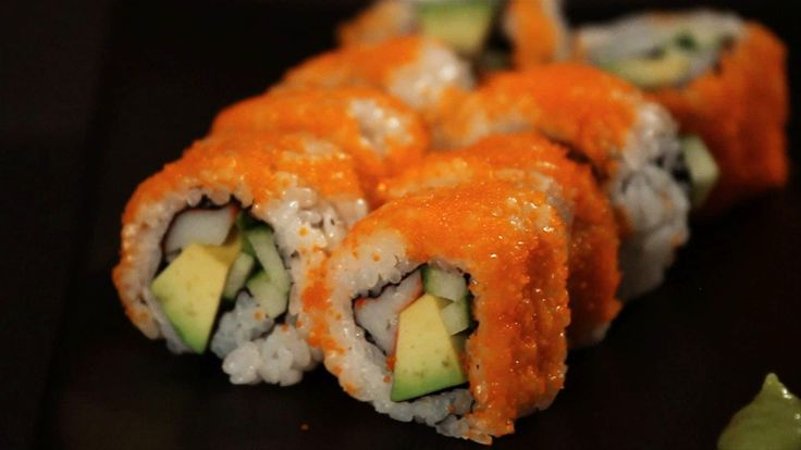 Watch more How to Make Sushi at Home videos: http://www.howcast.com/videos/504082-How-to-Make-a-Rainbow-Roll-Sushi-Lessons Learn how to make a California rol...
