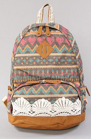 $70 The Baja Backpack in Gray by Nila Anthony @karmaloop -- Use repcode SMARTCANUCKS at the checkout for 20%OFF your purchase on karmaloop.com -- http://lovekarmaloop.com