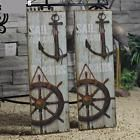 Vintage Anchor Picture Nautical Decor Rustic Wooden Sign Plaque Home Wall Art