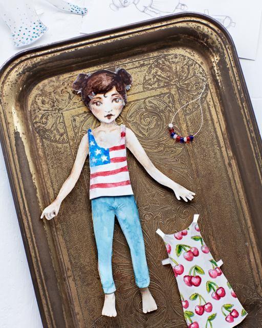 Free Printable Paper Dolls - Sweet Paul presents Lova's World