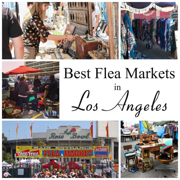 Los Angeles is home to some incredibly chic individuals, on and off the red carpet. Though there are tons of high end boutiques to help craft your personal style, it's no secret that flea markets are a favorite amongst the fashion forward. So which are the best flea markets in Los Angeles? Check out...