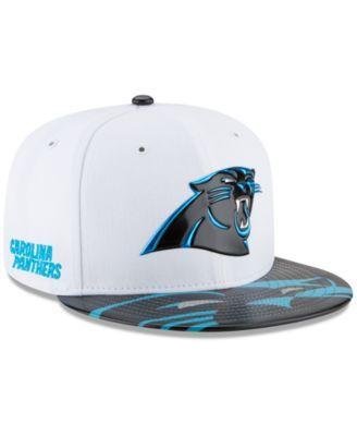 New Era Carolina Panthers 2017 Draft 59FIFTY Cap - Blue 7 3/8