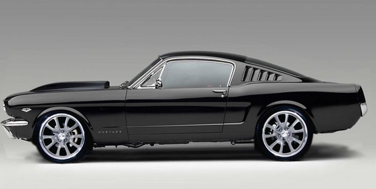 1966 Ford Mustang Fastback #cars #coches