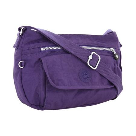 Kipling U.S.A. Syro Shoulder/Crossbody Bag Cross Body Handbags - Berry Purple