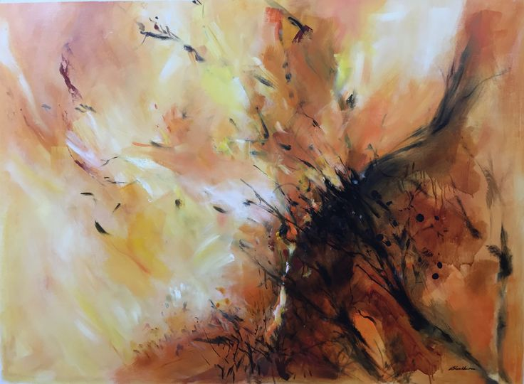 Carried on the Wind –  Oil on canvas PLATFORMstore