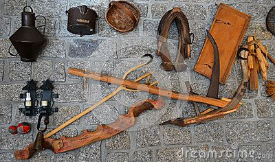 (C) Celia Ascenso - Shepherd Tools Display On Wall.