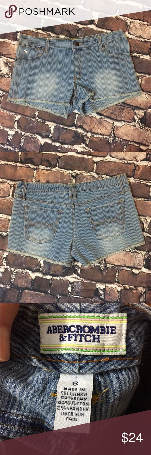 Abercrombie and Fitch shorts Size 8 denim Abercrombie shorts Abercrombie & Fitch Shorts Jean Shorts