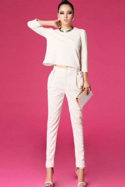 Fashion White Suits - http://www.caribbeanfashionspot.com/pages/Blouses_and_Shirts