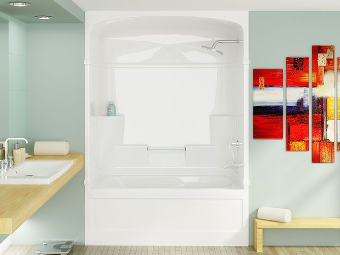 3 piece tub and shower unit. find this pin and more on shower stalls 2 Piece Tub Shower Unit  3piece Direct Santau0027s Sleigh 16piece