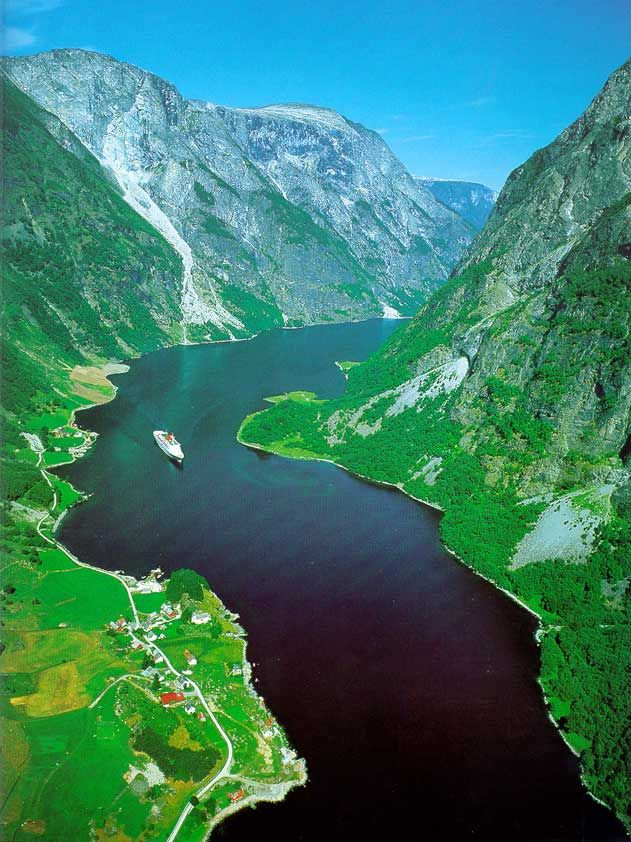 I would love to take a cruise through the fjords.