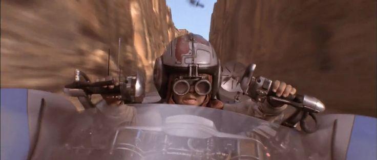 The Phantom Menace - Jake Lloyd as Anakin Skywalker on his Radon-Ulzer 620C Podracer