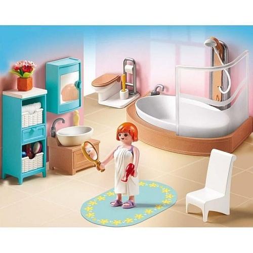 Playmobil - Salle de bains avec baignoire et pare-douche