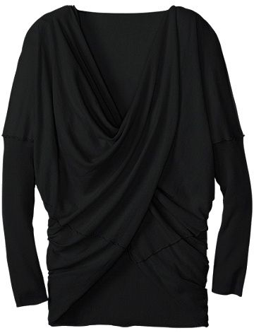 Modern Wrap Sweater from Hanna Andersson