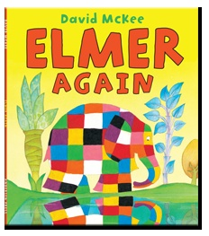 Elmer Again by David McKee published by Andersen Press. Narrated for Me Books by Mike Wozniak.